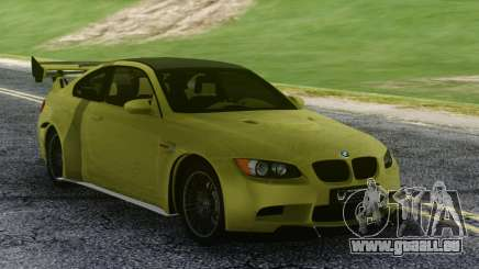 BMW M3 GTS Green pour GTA San Andreas