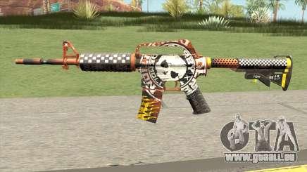 CS:GO M4A1 (Demolition V1 Skin) für GTA San Andreas