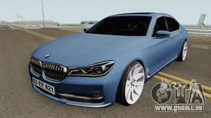BMW 750Li HQ pour GTA San Andreas