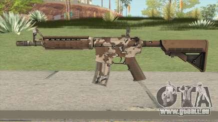 CS-GO M4A4 Desert Storm für GTA San Andreas