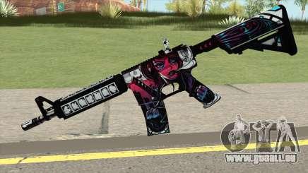 CSGO M4A4 Neo Noir für GTA San Andreas