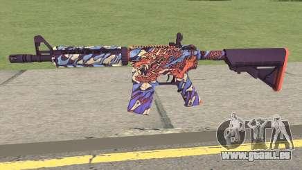 CS-GO M4A4 Dragon King pour GTA San Andreas