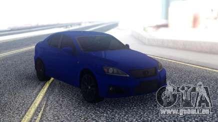 Lexus IS-F Sedan pour GTA San Andreas