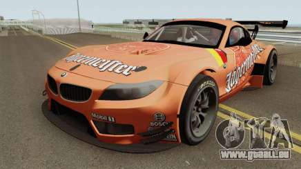 BMW Z4 GT3 2010 Jagermeister pour GTA San Andreas