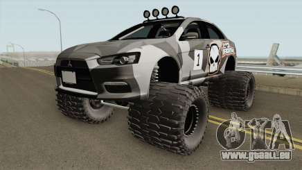 Mitsubishi Evolution X Off Road No Fear pour GTA San Andreas