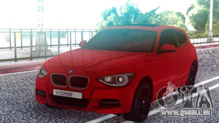 BMW M135i Red pour GTA San Andreas