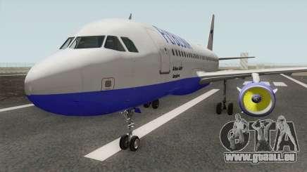 FLYBOSNIA Airbus A319 V2 für GTA San Andreas