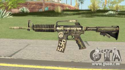 CS:GO M4A1 (Flashback Skin) für GTA San Andreas