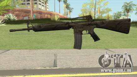 M16A2 Full Jungle Camo (Ext Mag) pour GTA San Andreas