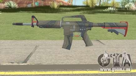 CS:GO M4A1 (Brifing Skin) für GTA San Andreas