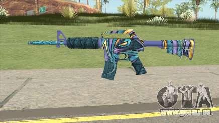 CS:GO M4A1 (Mobius Skin) für GTA San Andreas