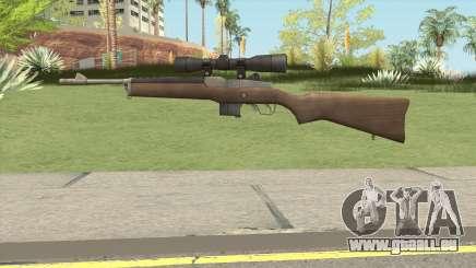 L4D1 Ruger Mini-14 Sniper pour GTA San Andreas