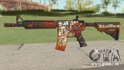 CS-GO M4A4 Hellfire pour GTA San Andreas