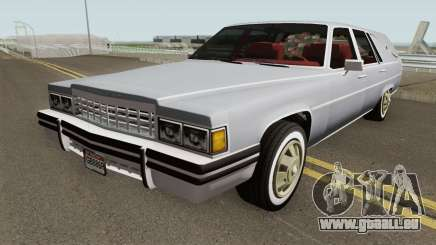 Cadillac Fleetwood Hearse (Romero Style) v1 1985 pour GTA San Andreas