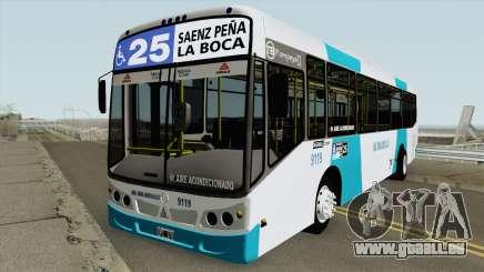 Todobus Pompeya II Agrale MT15 Linea 25 Interno pour GTA San Andreas