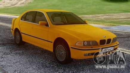 BMW E39 530d Yellow pour GTA San Andreas