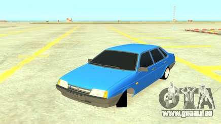 VAZ 21099 Bleu pour GTA 4