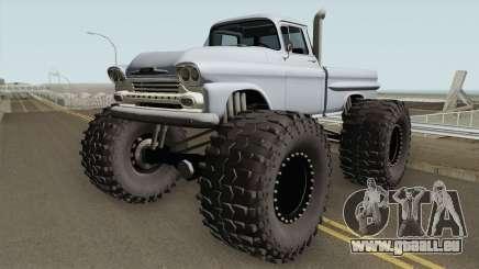 Chevrolet Apache Monster Truck 1958 V2 für GTA San Andreas