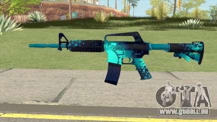 CS:GO M4A1 (Icarus Skin) für GTA San Andreas
