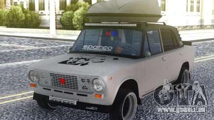 VAZ 2101 Nouveau Style de Voyage pour GTA San Andreas