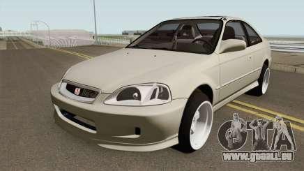 Honda Civic 99 Swap K20Z3 pour GTA San Andreas