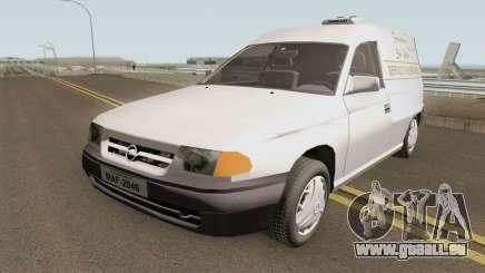 Opel Astra F Funeral Service für GTA San Andreas