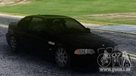 BMW M3 Black Coupe pour GTA San Andreas