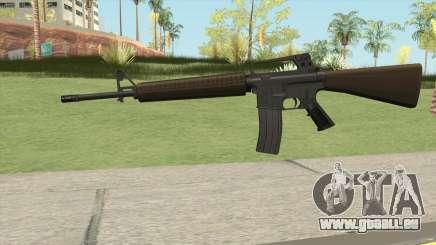 M16A2 Partial Desert Camo (Ext Mag) pour GTA San Andreas