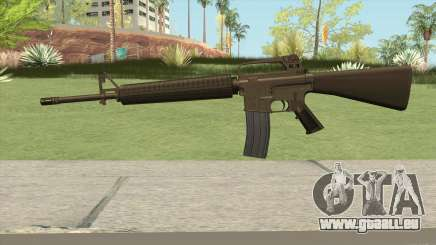 M16A2 Full Desert Camo (Ext Mag) pour GTA San Andreas
