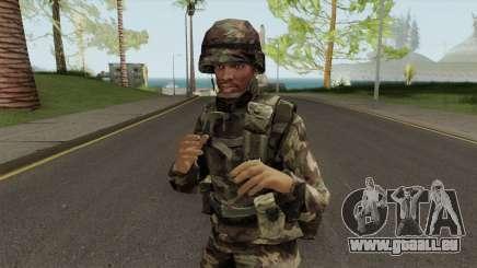 CJ Militar pour GTA San Andreas