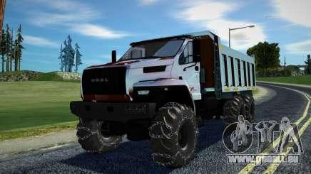Ural Next Dump Truck LPcars pour GTA San Andreas