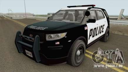 Vapid Police Cruiser Utility GTA V IVF pour GTA San Andreas