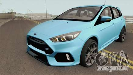 Ford Focus RS 2017 HQ pour GTA San Andreas