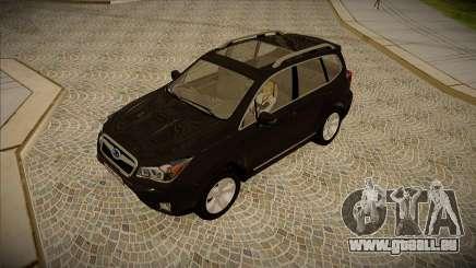 Subaru Forester 2014 XT pour GTA San Andreas