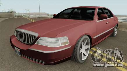 Lincoln Town Car (SA Style) 2011 pour GTA San Andreas