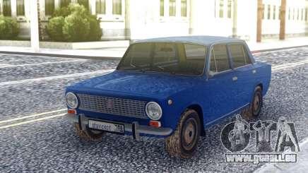 VAZ 2101 Berline Bleu pour GTA San Andreas