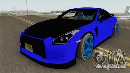 Nissan GT-R 2010 Catalina Tuning für GTA San Andreas