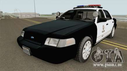 Ford Crown Victoria Police Interceptor LAPD 2011 pour GTA San Andreas