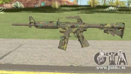 CS:GO M4A1 (Forest Boreal Skin) für GTA San Andreas