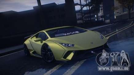 Lamborghini Huracan Rocket Bunny pour GTA San Andreas