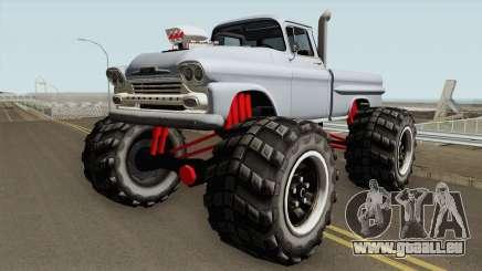 Chevrolet Apache Monster Truck 1958 V1 für GTA San Andreas