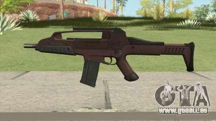 XM8 Compact V2 Red für GTA San Andreas