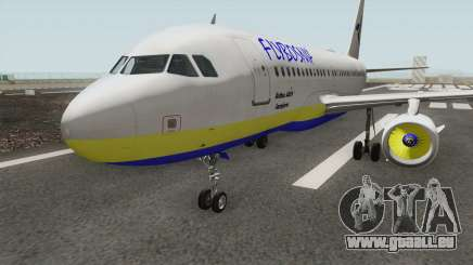 FLYBOSNIA Airbus A319 V1 pour GTA San Andreas