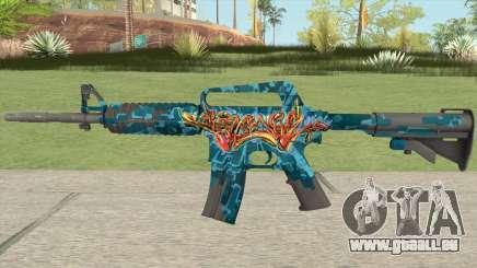 CS:GO M4A1 (Silence Skin) für GTA San Andreas