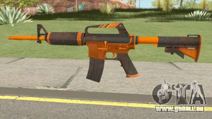 CS:GO M4A1 (Alloy Orange Skin) pour GTA San Andreas
