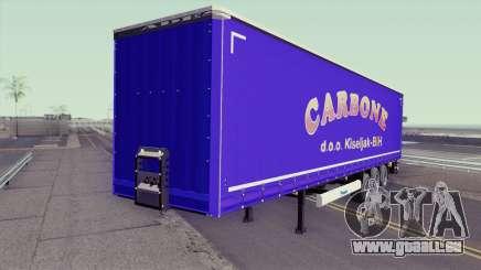 Carbone Trailer pour GTA San Andreas