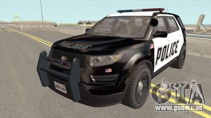 Vapid Police Cruiser Utility GTA V für GTA San Andreas
