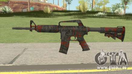 CS:GO M4A1 (Redtiger Skin) für GTA San Andreas