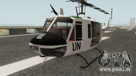 Bell UH-1 Huey United Nations pour GTA San Andreas