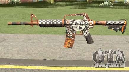 CS:GO M4A1 (Demolition V2 Skin) für GTA San Andreas